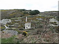 SW7251 : Old tin mine, Blue Hills near St. Agnes by nick macneill