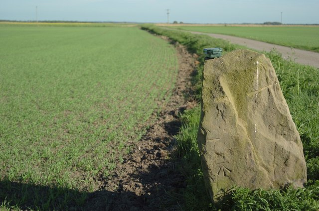 Benchmark on Engine Lane, Great Altcar