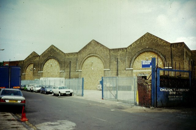 Former Poplar Bus Garage
