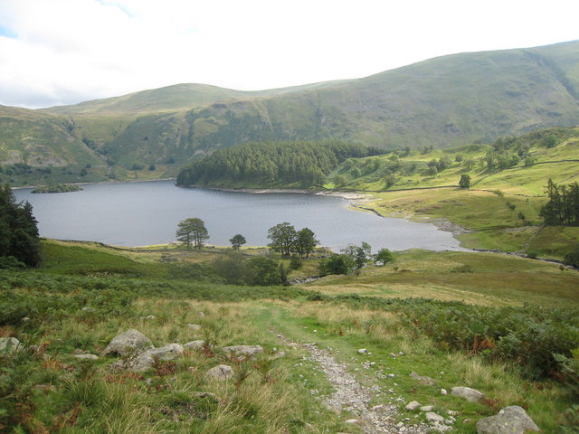 Haweswater, Cumbria - from Riggindale - 20-8-2007