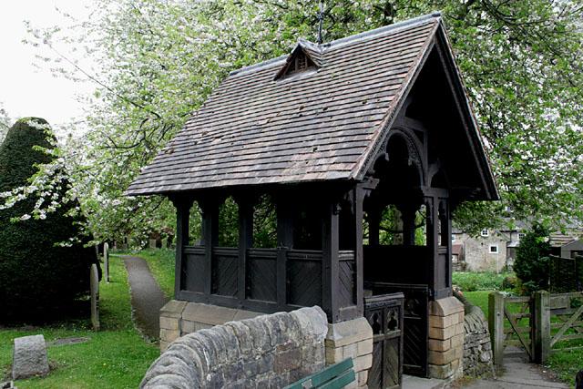 Lychgate, St Anne's, Baslow