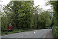 SK2573 : The A623 north of Baslow by David Lally