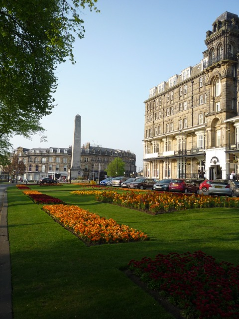 Prospect Place and the Cenotaph