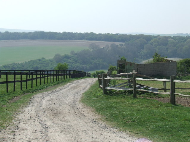 Track on the South Downs