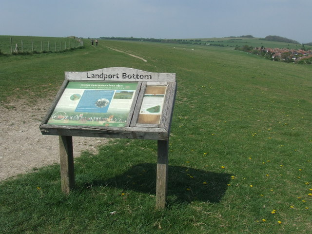 Landport Bottom, near Lewes