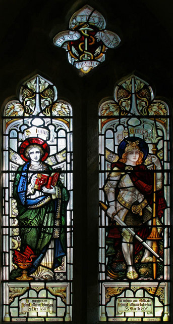 St Nicholas, Alfold - Stained glass window