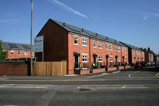 New houses on Clumber Street