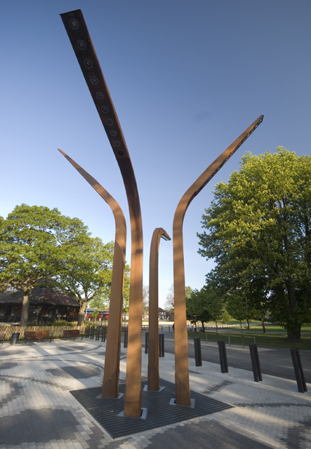 West Park entrance sculpture, Hull