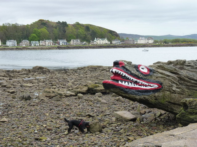 Crocodile Rock, Millport