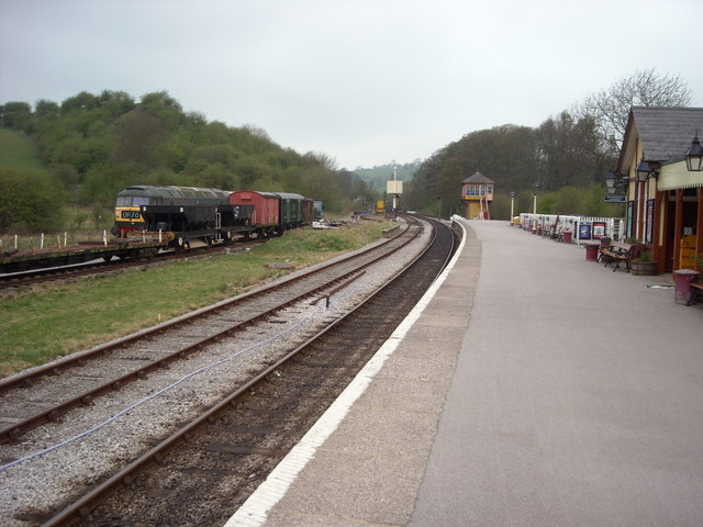 Bolton Abbey Station.