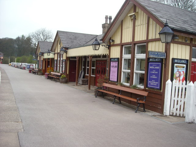 Station Buildings at Bolton Abbey Station