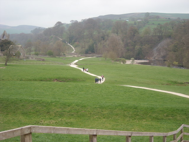 Footpath to the River Wharfe