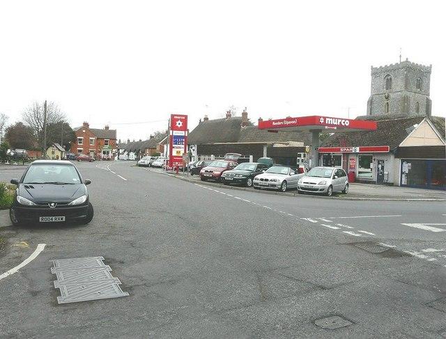 A345 road