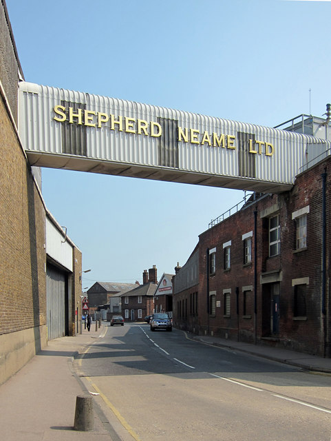 Shepherd Neame Bridge over North Lane