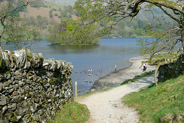 Shore of Rydal Water