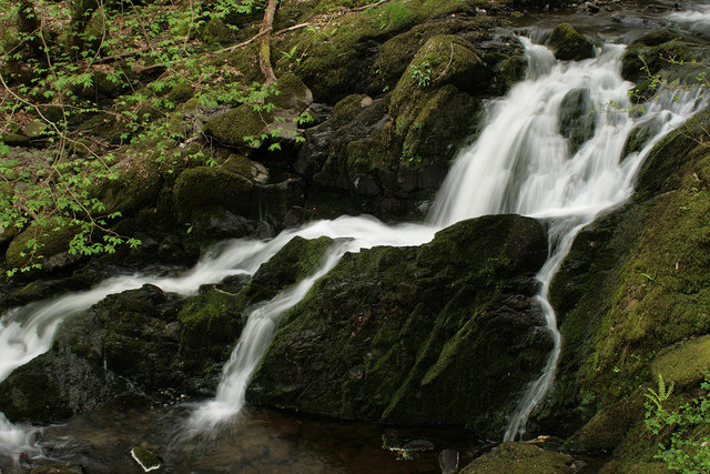 Arthog waterfalls (lower)