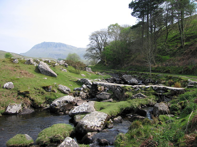 Footbridge across the Afon Arthog