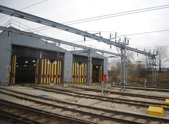 bounds green depot  u00a9 n chadwick cc 2 0    geograph britain and ireland