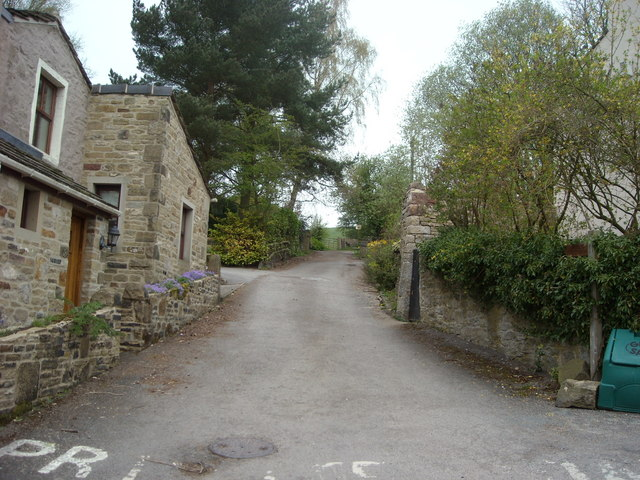 Towards the Battery, Skipton