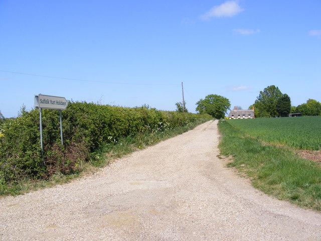 The entrance to Oak Farm