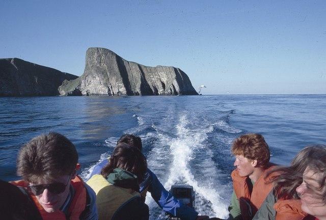 Sheep Rock, Fair Isle, from the sea © Mike Pennington cc-by-sa/2.0 ...