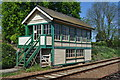 TL8928 : Chappel Signal Box by Ashley Dace