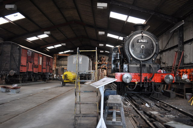 East Anglian Railway Museum - Workshops