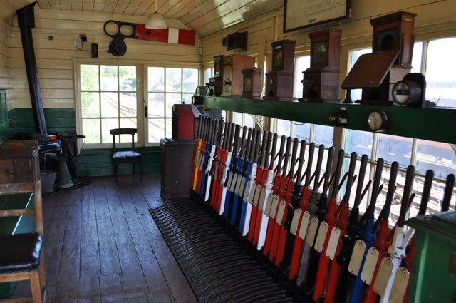 Chappel & Wakes Colne Signal Box
