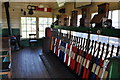 TL8928 : Chappel &amp; Wakes Colne Signal Box by Ashley Dace