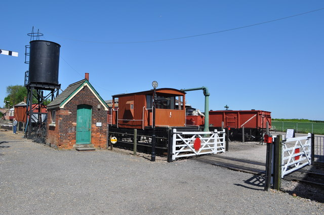 Chappel and Wakes Colne Goods Yard