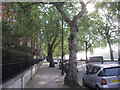TQ2877 : Chelsea Embankment by PAUL FARMER