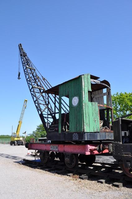 4-Wheel Grafton Steam Crane No 1569
