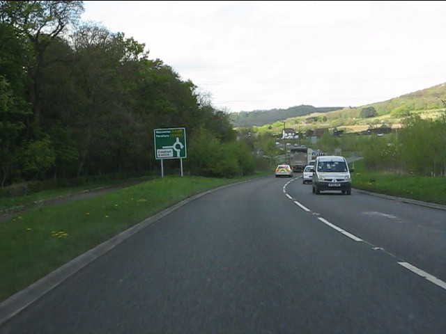 A44 near Abbey Manor