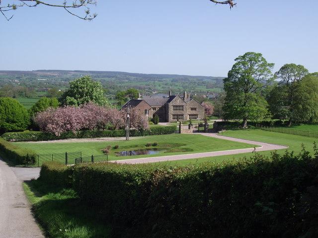 Osbaldeston Hall & 169 Philip Platt Geograph Britain And
