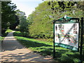 TQ8110 : Alexandra Park sign by Oast House Archive