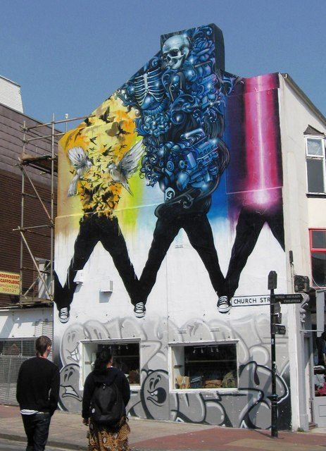 Graffiti in Church Street
