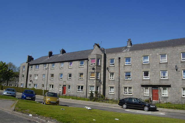 Printfield Terrace Woodside Aberdeen 169 Bill Harrison Cc