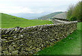 NY3902 : Wall on the High Skelghyll bridleway by Graham Horn