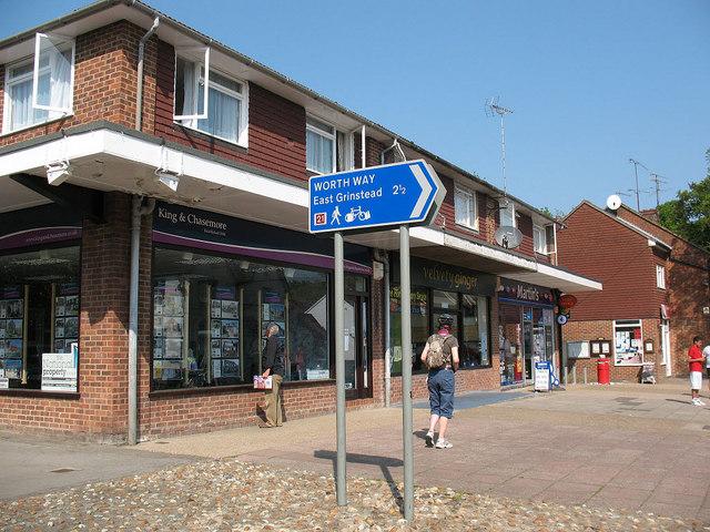 Shops on Station Road