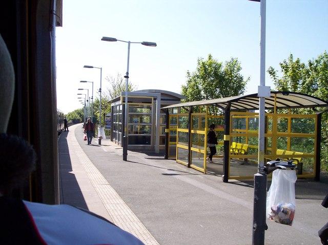Bootle New Strand station platform