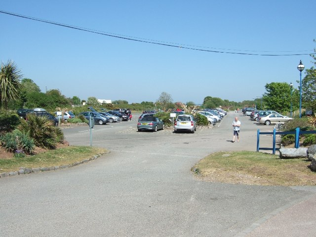 Car park at Dawlish Warren