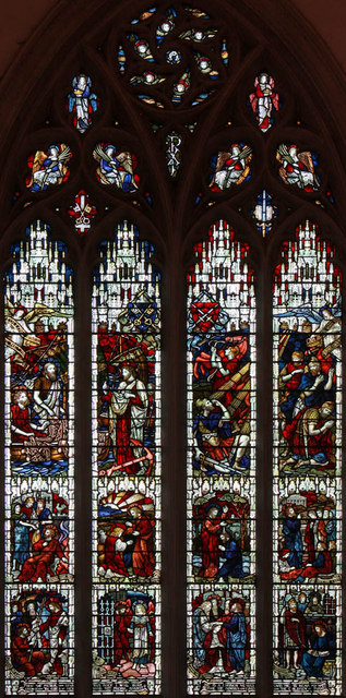 St Peter & St Paul, Godalming, Surrey - Stained glass window