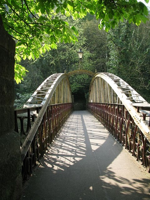 The Jubilee Bridge, Matlock Bath