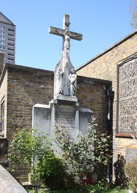 St Luke, Havannah Street, Millwall - Calvary