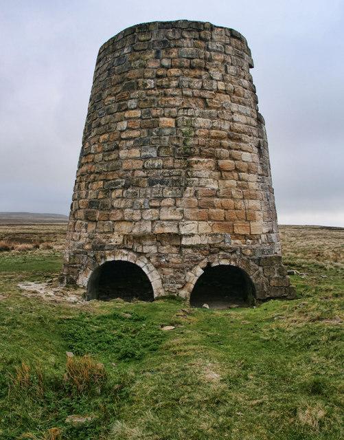 Allen Smelt Mill Chimneys