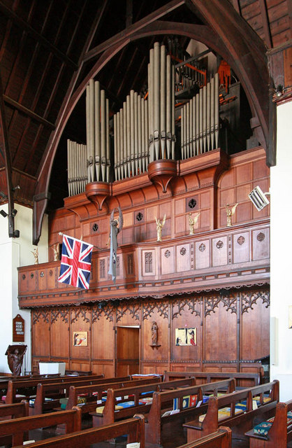Christ Church, Manchester Road, Isle of Dogs - Organ