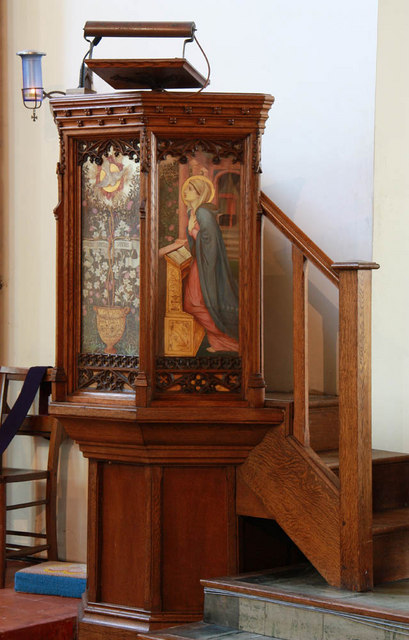 Christ Church, Manchester Road, Isle of Dogs - Pulpit