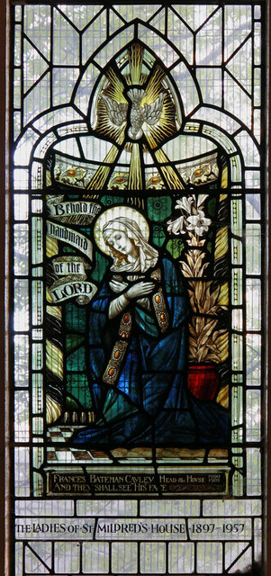 Christ Church, Manchester Road, Isle of Dogs - Stained glass window