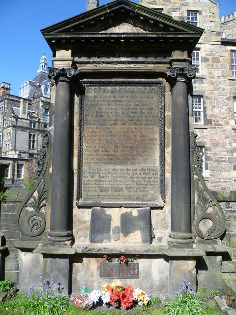 Martyrs' Monument, Greyfriars Kirkyard
