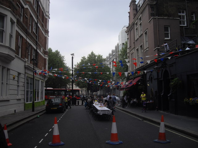 Royal Wedding Street Party, Causton Street Pimlico